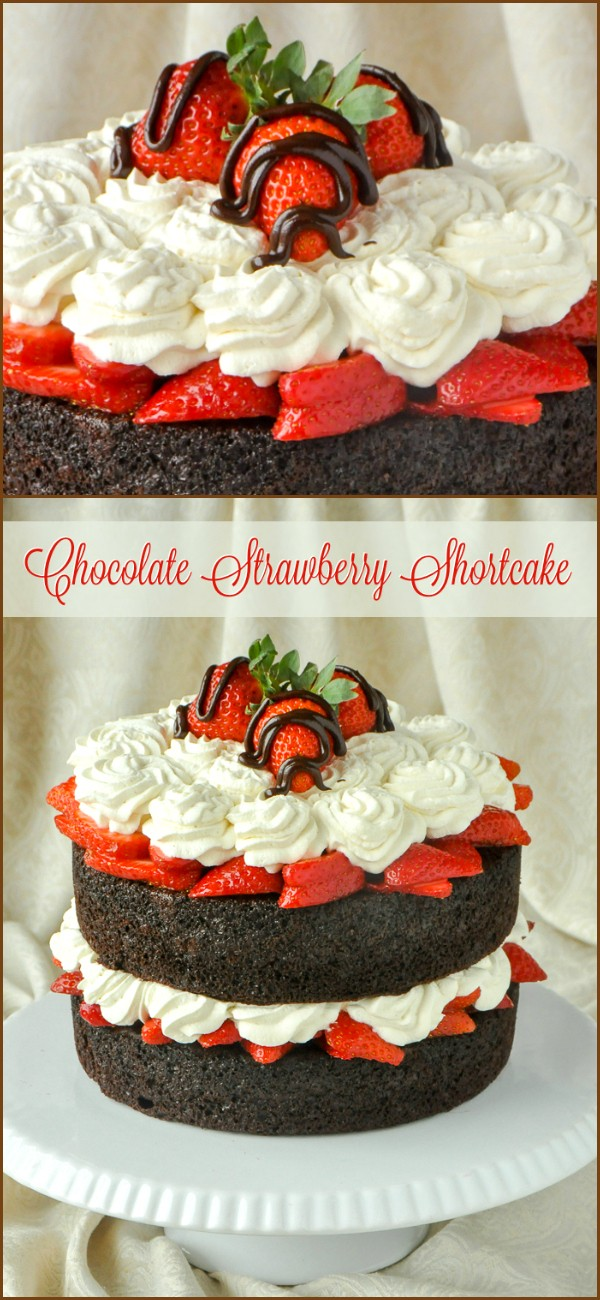Get the recipe Chocolate Strawberry Shortcake @recipes_to_go