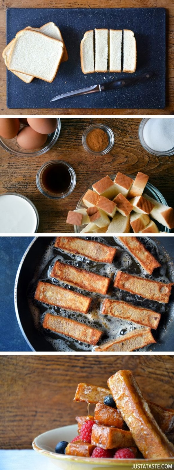 Get the recipe Easy Cinnamon French Toast Sticks @recipes_to_go