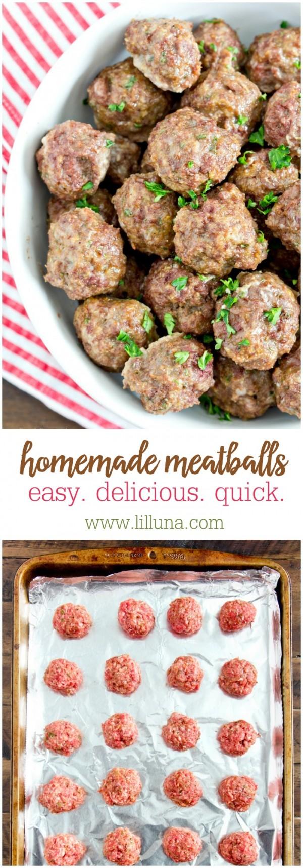 Get the recipe Homemade Meatballs @recipes_to_go