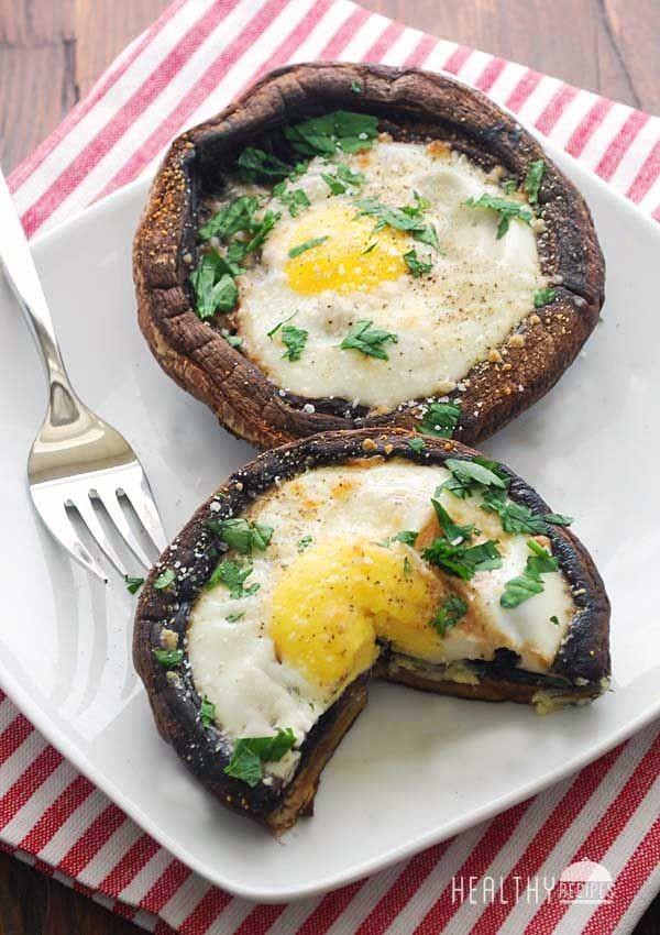 Get the recipe Egg Baked in Portobello Mushrooms @recipes_to_go