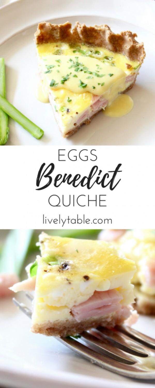 Get the recipe Eggs Benedict Quiche @recipes_to_go