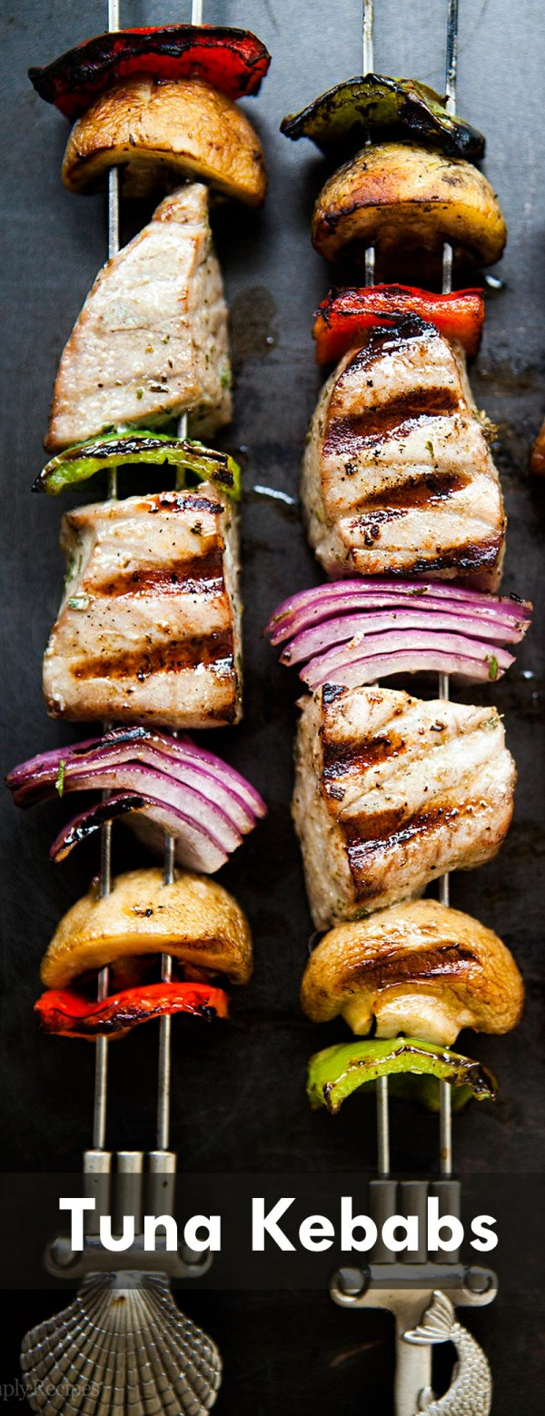 Get the recipe Tuna Kebabs @recipes_to_go