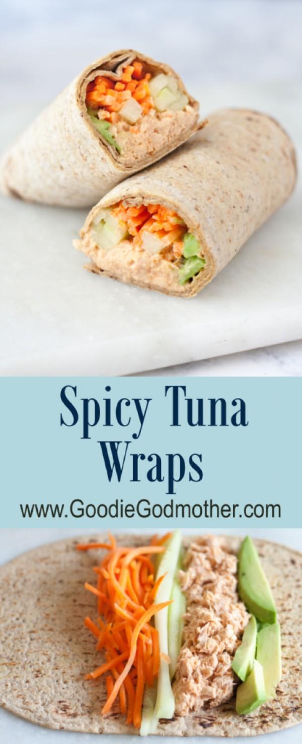 Get the recipe Spicy Tuna Wraps @recipes_to_go