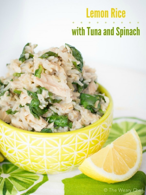 Get the recipe Lemon Rice with Tuna and Spinach @recipes_to_go