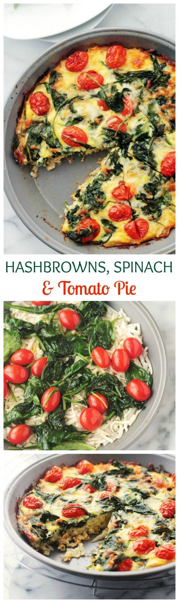 Get the recipe Hashbrowns Spinach and Tomato Pie @recipes_to_go