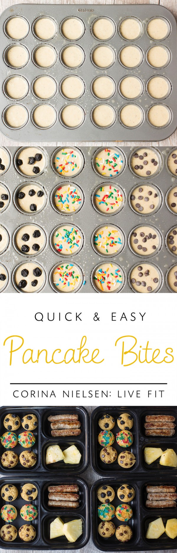Get the recipe Quick and Easy Pancakes Bites @recipes_to_go