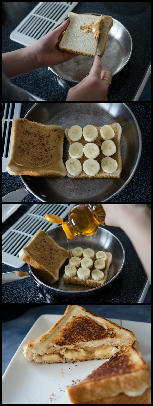 Get the recipe Peanut Butter and Banana Sandwich @recipes_to_go