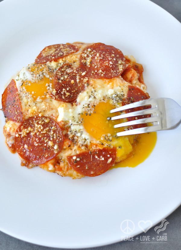 Get the recipe Pizza Eggs Low-Carb @recipes_to_go