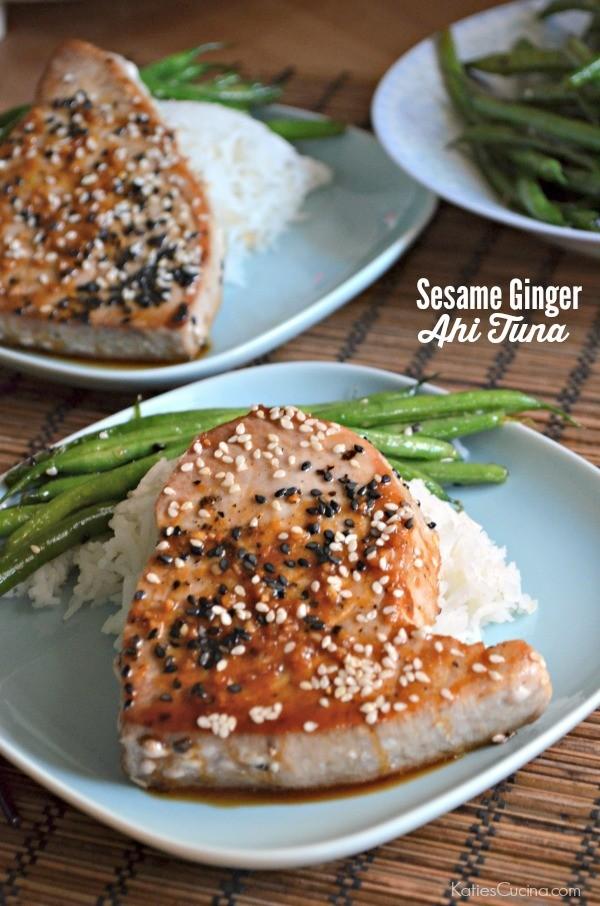 Get the recipe Sesame Ginger Ahi Tuna @recipes_to_go