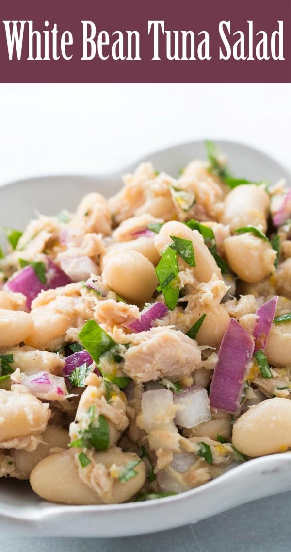 Get the recipe White Bean Tuna Salad @recipes_to_go