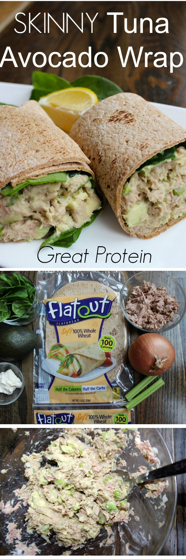 Get the recipe Skinny Tuna Avocado Wrap @recipes_to_go