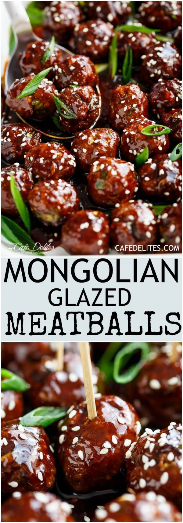 Get the recipe Mongolian Glazed Meatballs @recipes_to_go