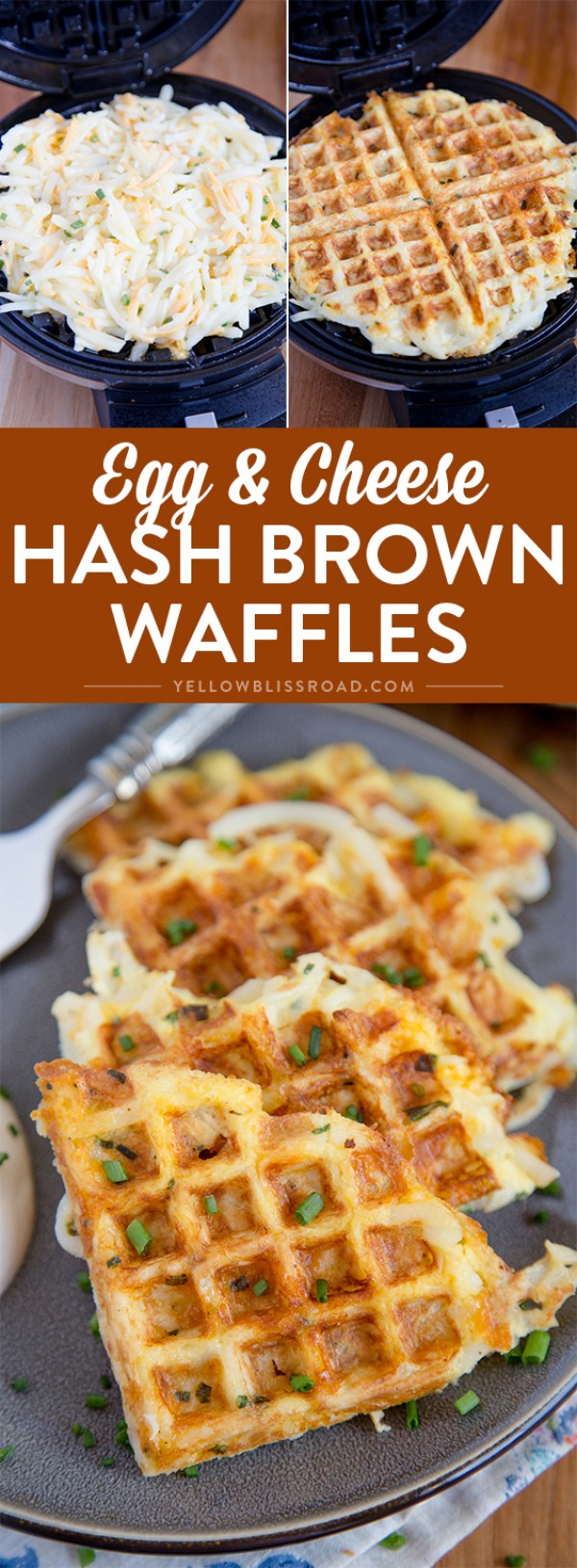 Get the recipe Egg and Cheese Hash Brown Waffles @recipes_to_go