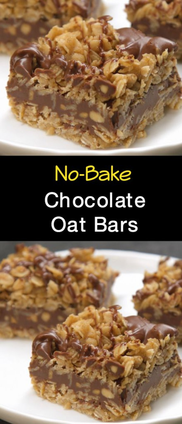 Get the recipe Chocolate Oat Bars @recipes_to_go