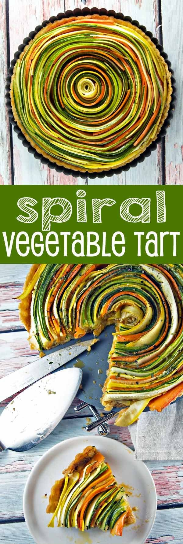 Get the recipe Spiral Vegetable Tart @recipes_to_go