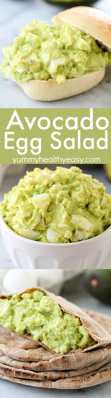 Get the recipe Avocado Egg Salad @recipes_to_go