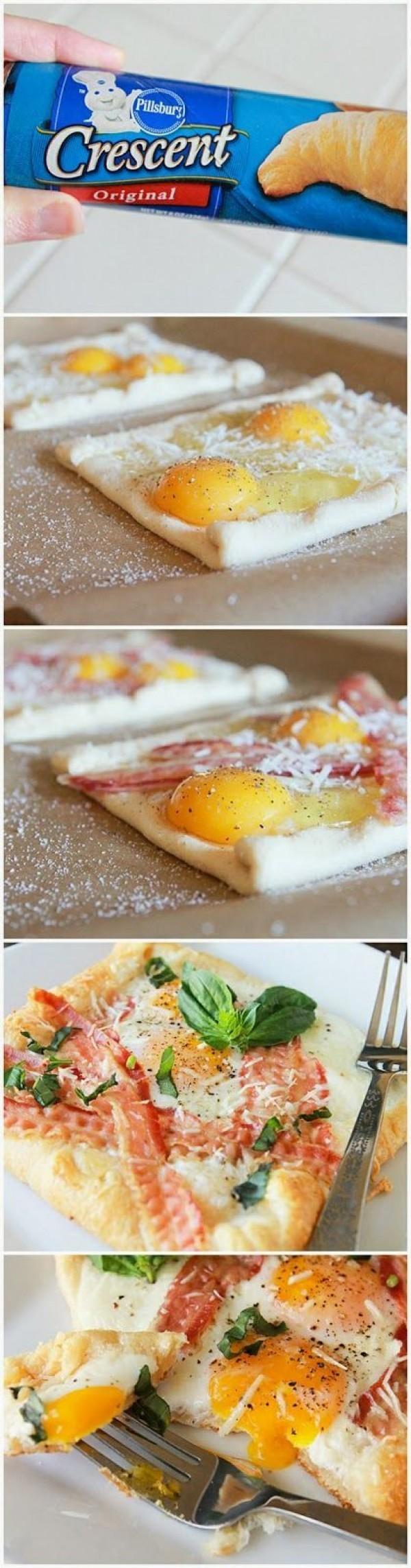 Get the recipe Bacon and Egg Crescent Squares @recipes_to_go