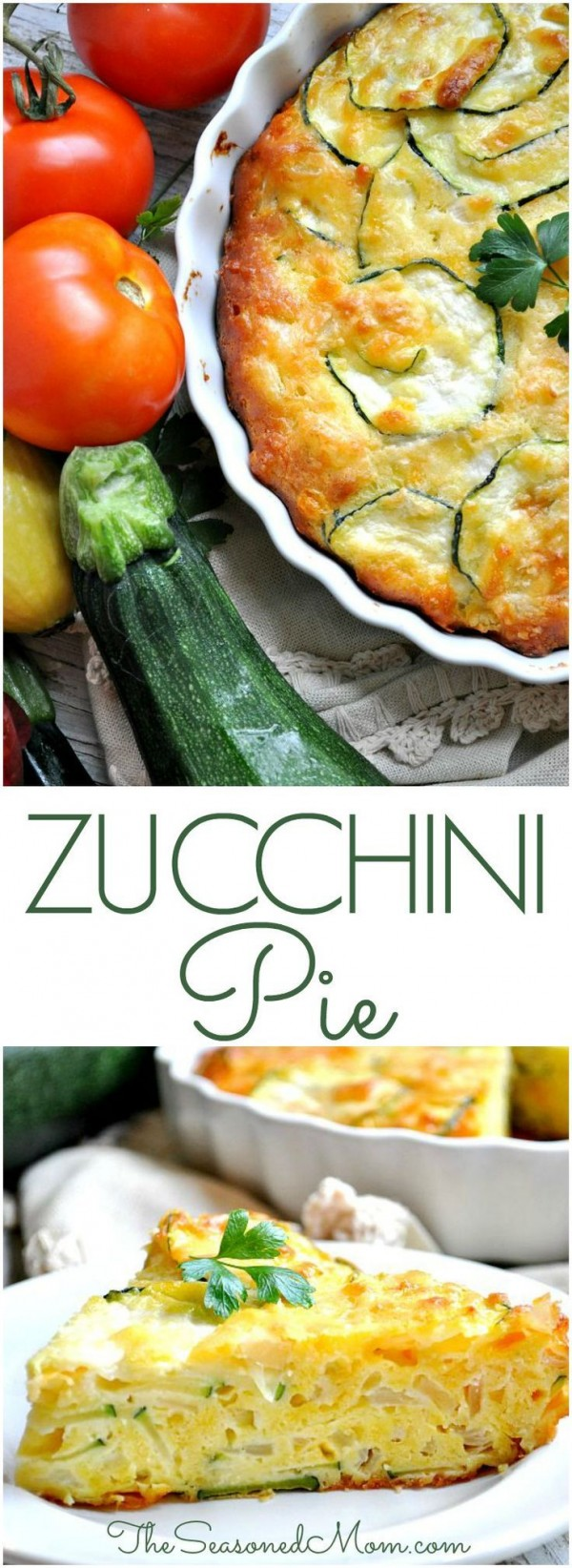Get the recipe Zucchini Pie @recipes_to_go