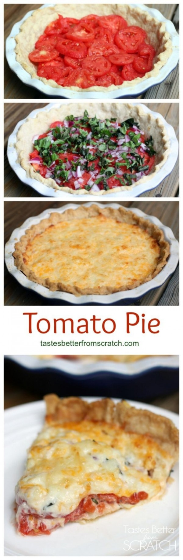 Get the recipe Tomato Pie @recipes_to_go