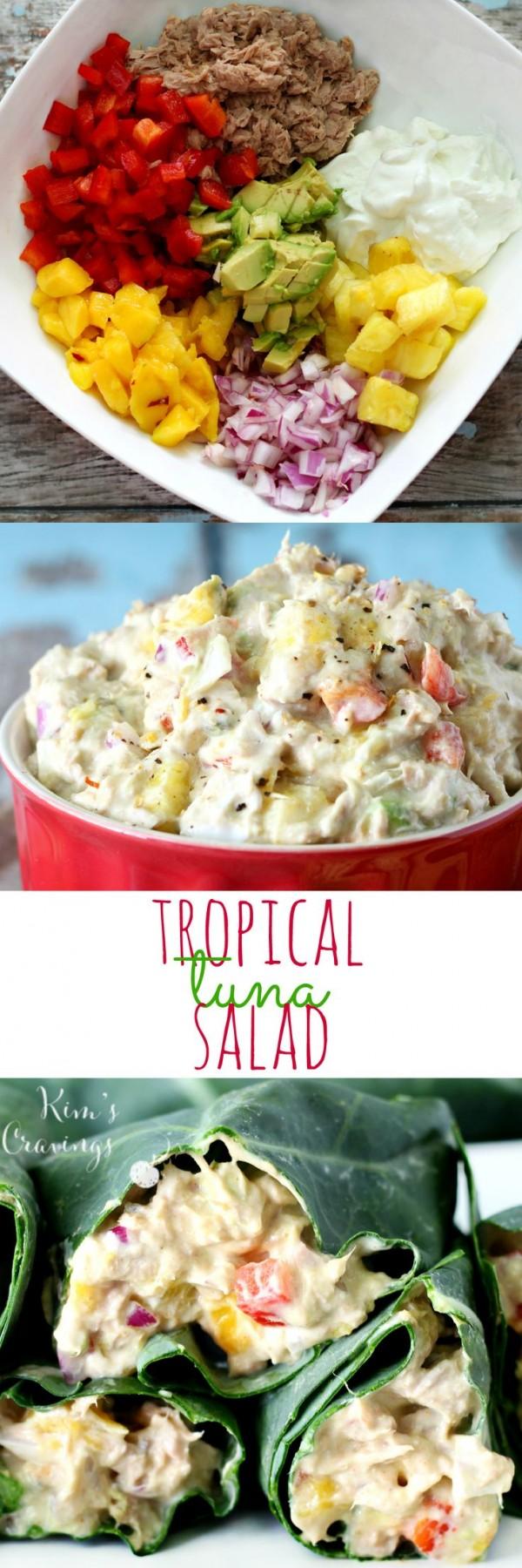 Get the recipe Tropical Tuna Salad @recipes_to_go