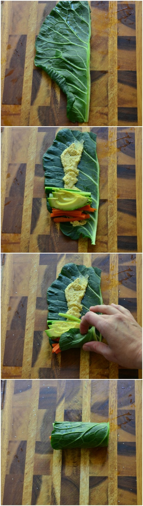 Get the recipe Fresh Veggie Collard Wraps @recipes_to_go