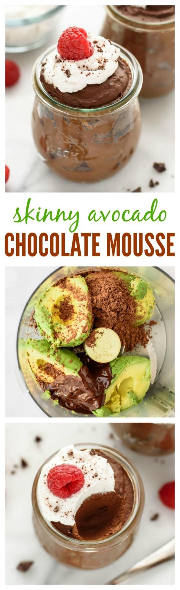 Get the recipe Skinny Avocado Chocolate Mousse @recipes_to_go