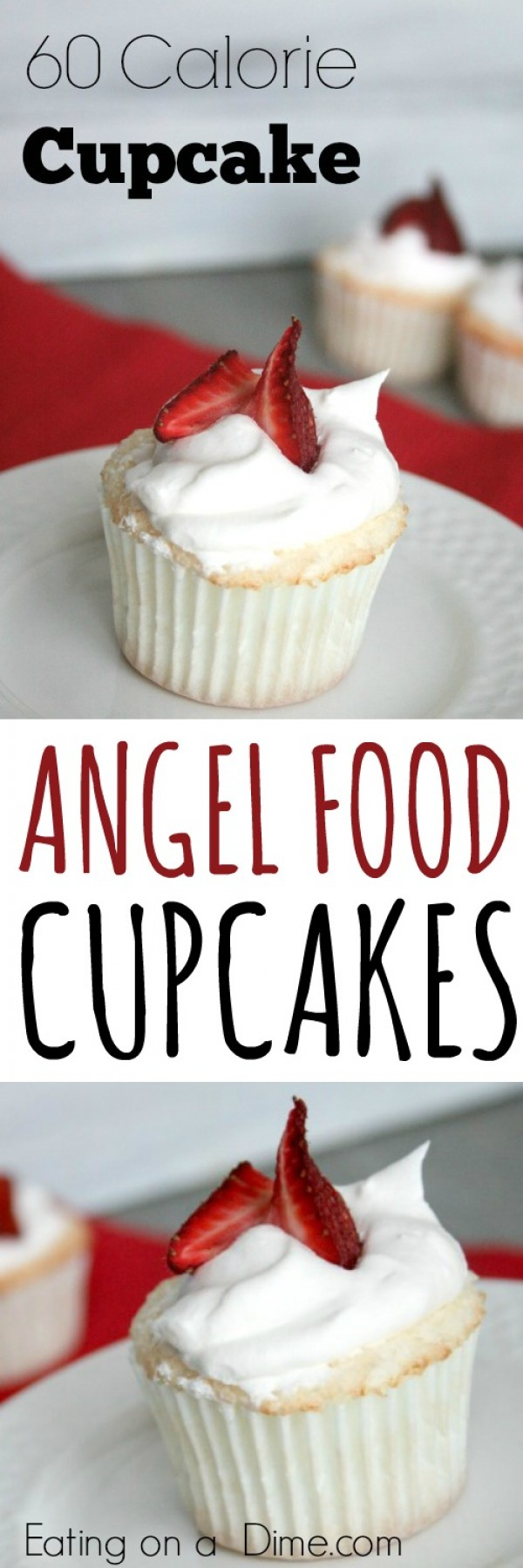 Get the recipe Angel Food Cupcakes @recieps_to_go