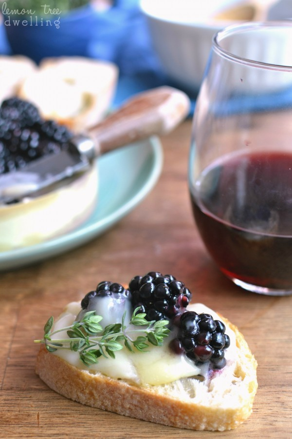 Get the recipe Baked Brie with Wine-Soaked Blackberries @recipes_to_go