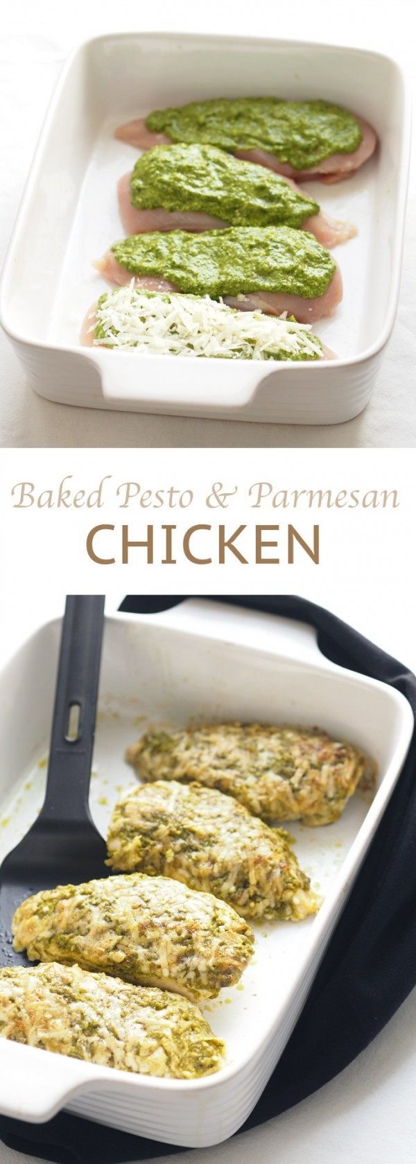 Get the recipe Baked Pesto and Parmesan Chicken @recipes_to_go