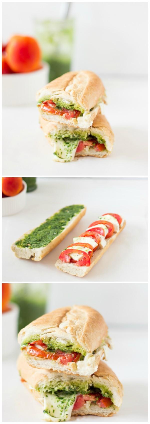 Get the recipe Caprese Sandwich Parsley Pesto @recipes_to_go