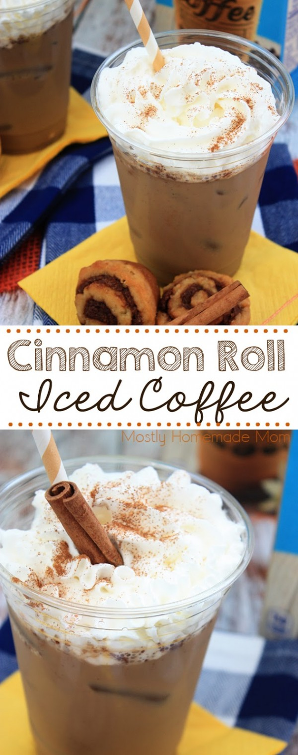 Get the recipe Cinnamon Roll Iced Coffee @recipes_to_go