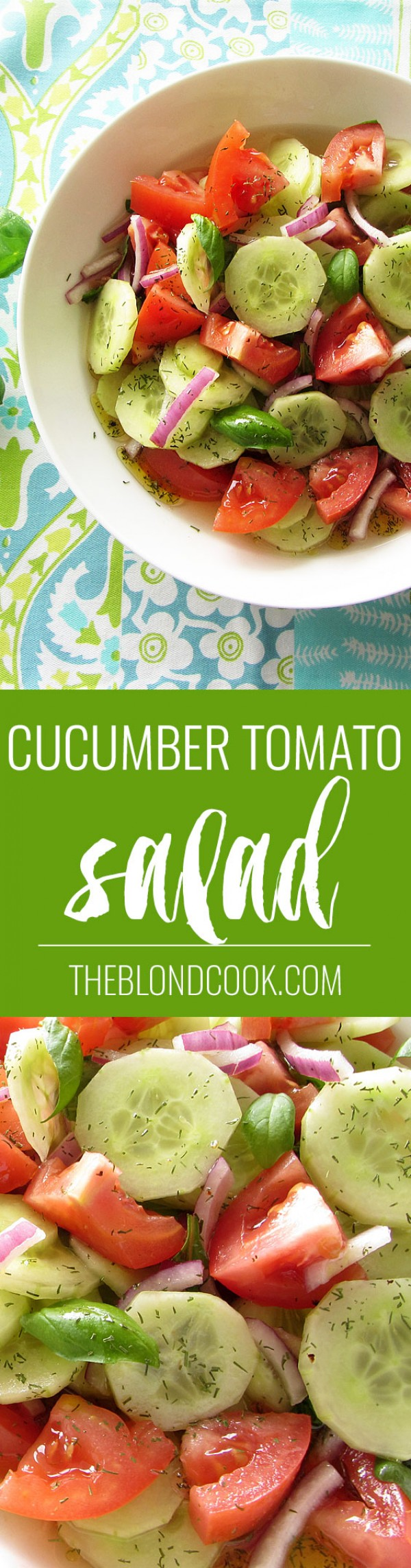 Get the recipe Cucumber Tomato Salad @recipes_to_go