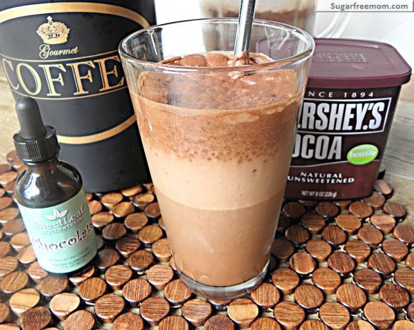 Get the recipe Low Fat Mocha Iced Coffee Frappe @recipes_to_go