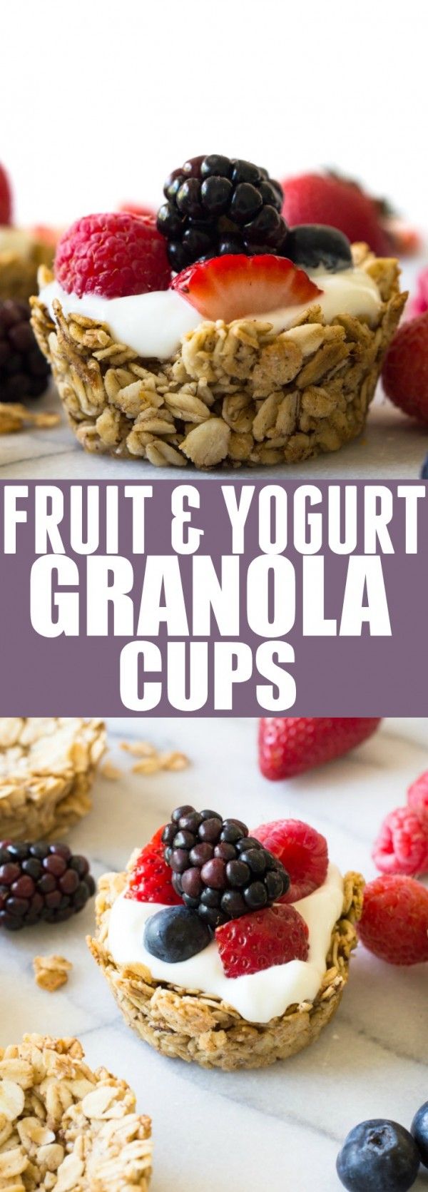 Get the recipe Fruit and Yogurt Granola Cups @recipes_to_go