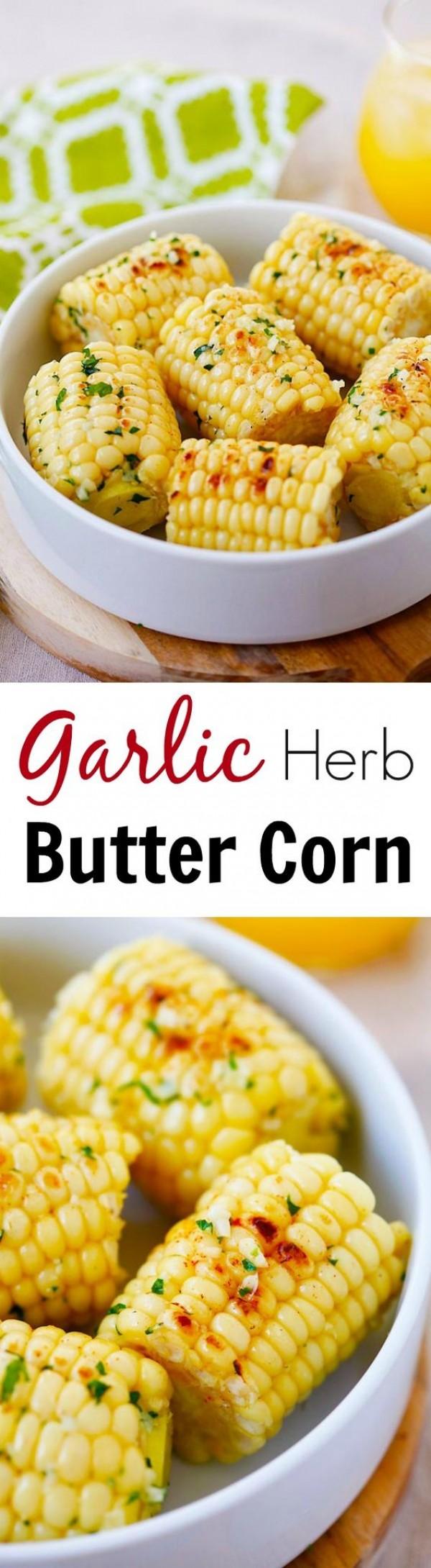 Get the recipe Garlic Herbs Butter Corn @recipes_to_go