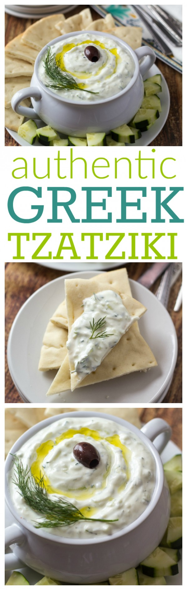 Get the recipe Authentic Greek Tzatziki @recipes_to_go