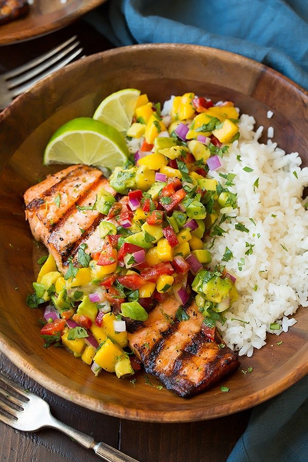 Get the recipe Grilled Lime Salmon @recipes_to_go