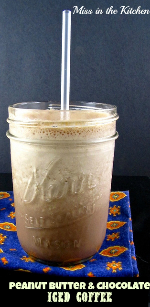 Get the recipe Peanut Butter and Chocolate Iced Coffee @recipes_to_go