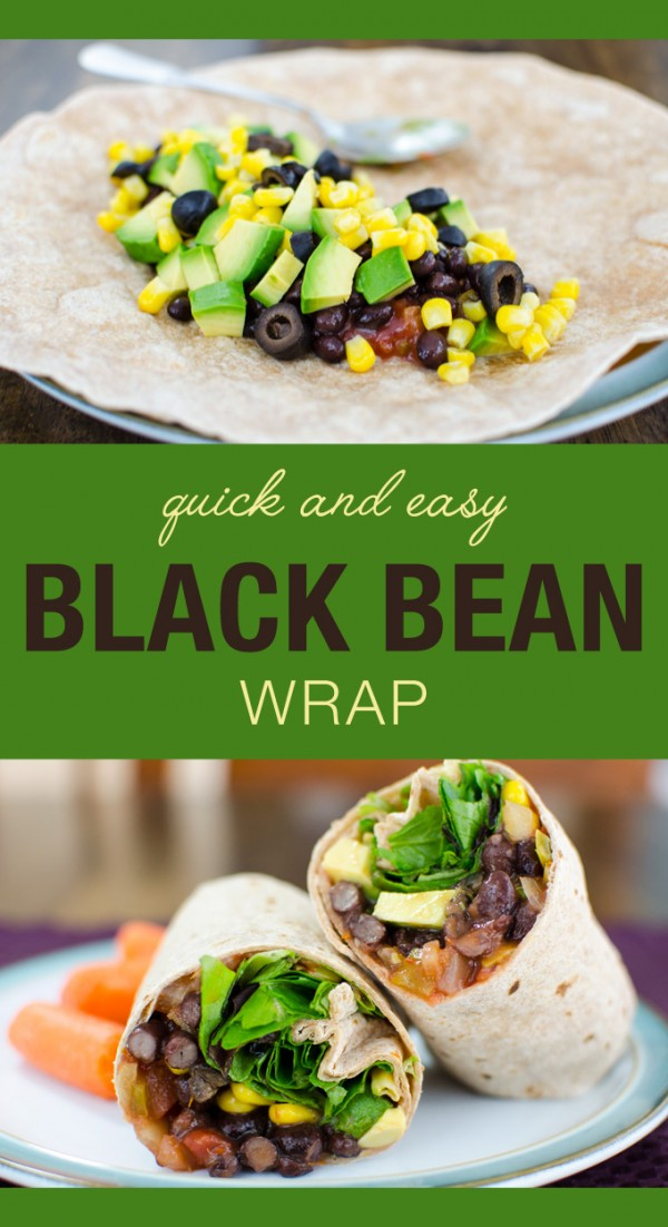 Get the recipe Black Bean Wraps @recipes_to_go