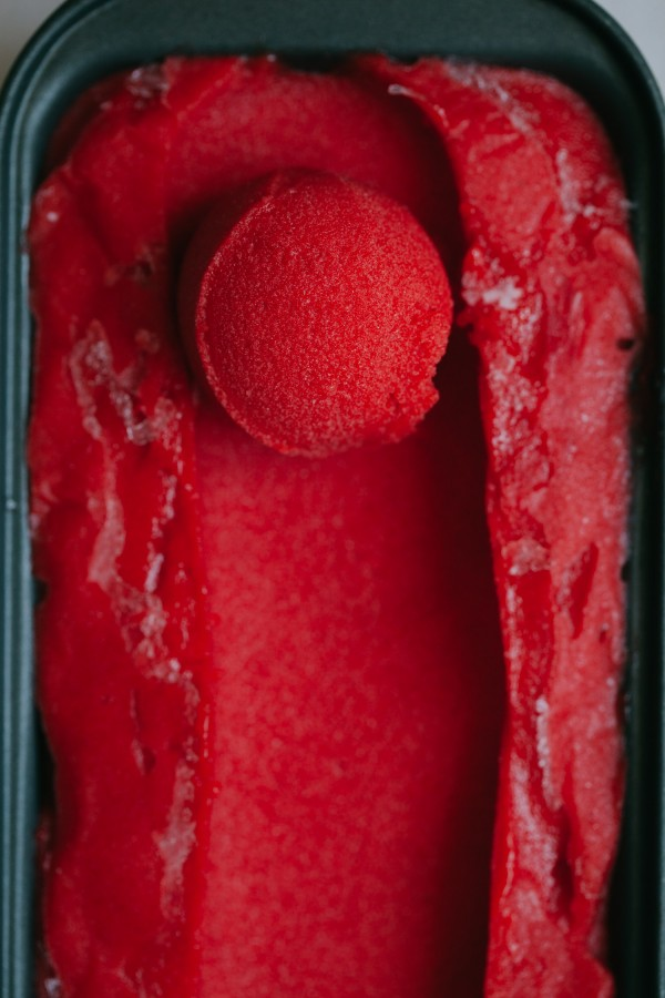 Get the recipe Strawberry Thai Basil Sorbet @recipes_to_go