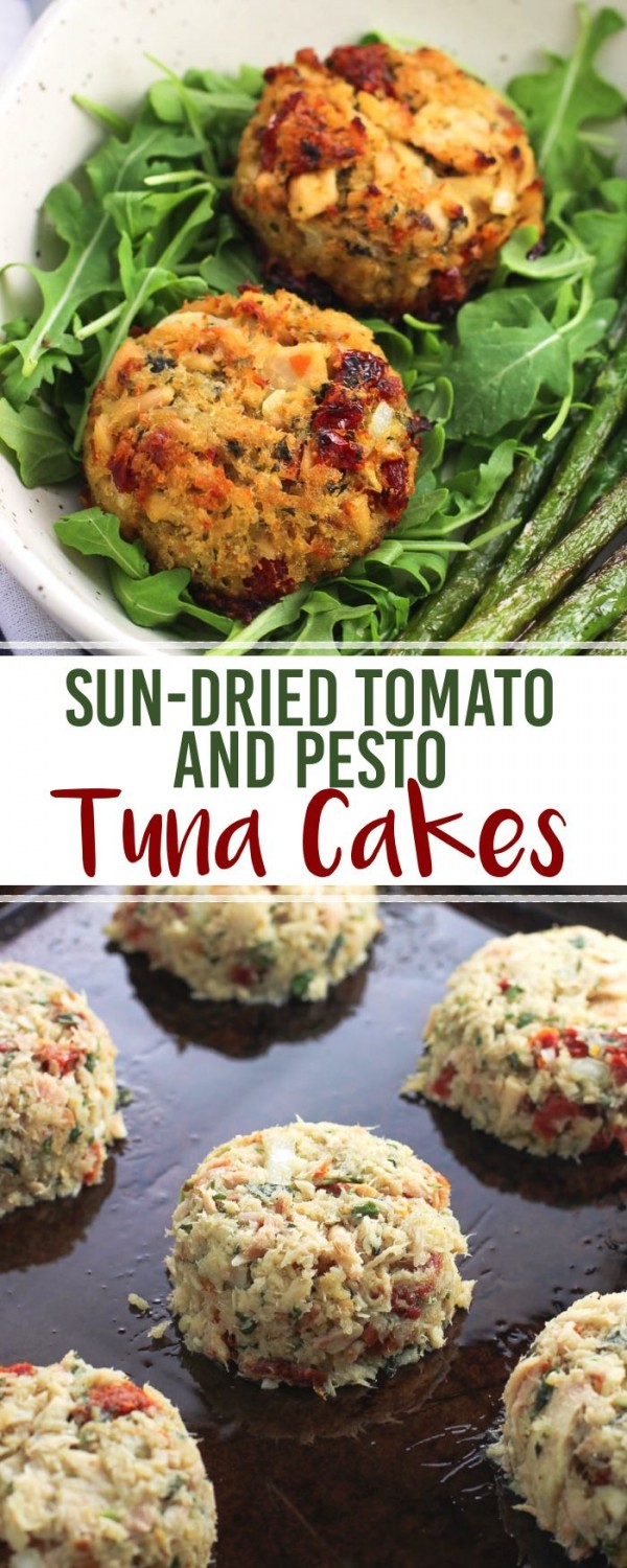 Get the recipe Sun-Dried Tomato and Pesto Tuna Cakes @recipes_to_go