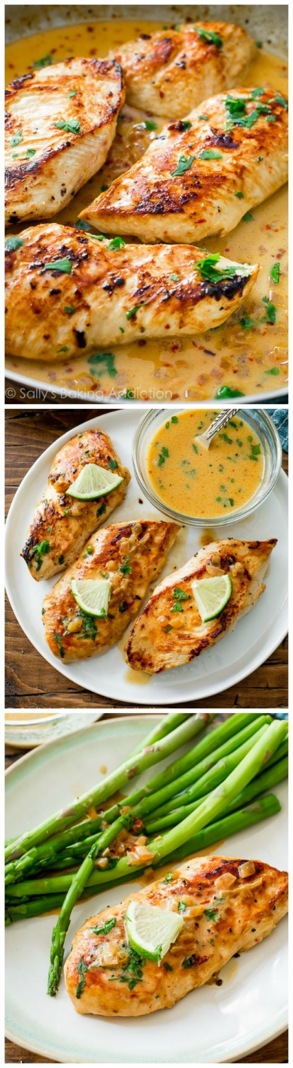 Get the recipe Skillet Chicken with Creamy Cilantro Lime Sauce @recipes_to_go