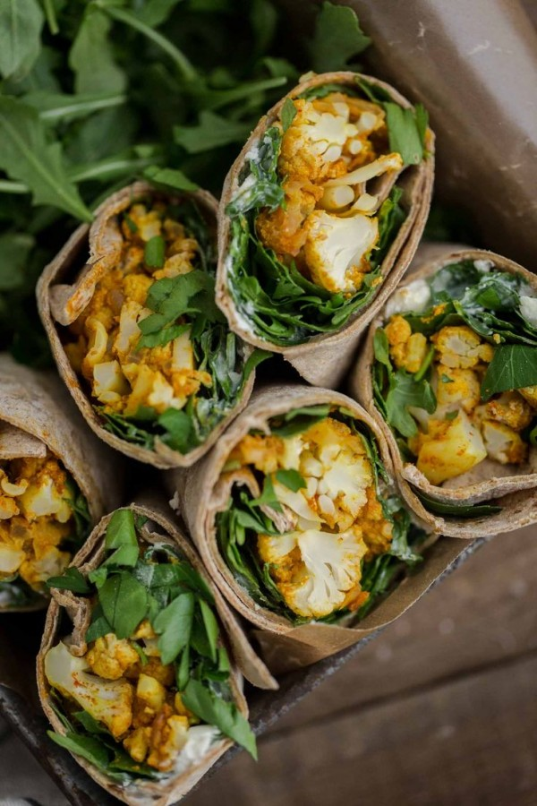 Get the recipe Tandoori Cauliflower Wraps @recipes_to_go