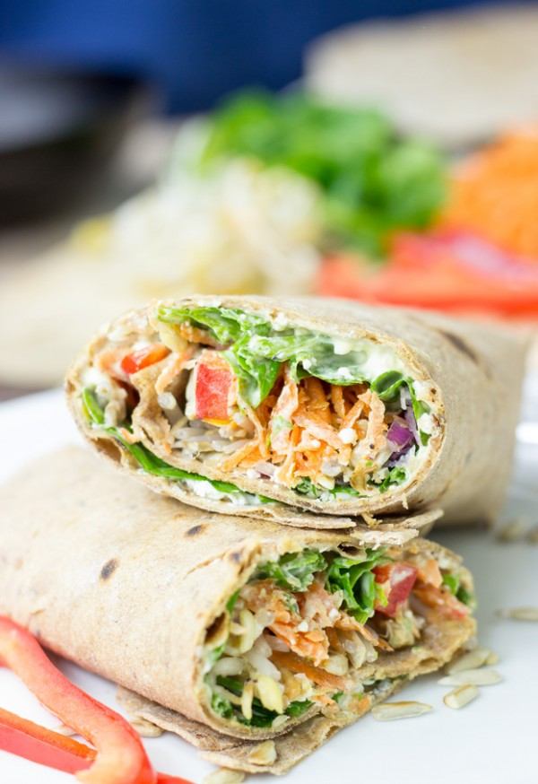 Get the recipe Tangy Veggie Wrap @recipes_to_go