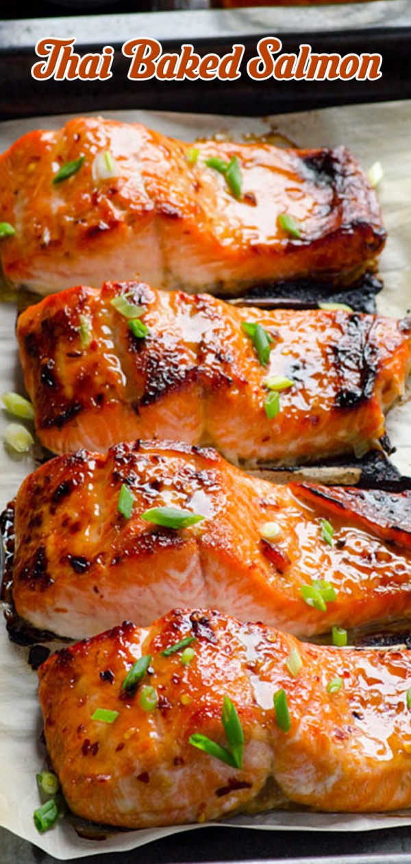 Get the recipe Thai Baked Salmon @recipes_to_go