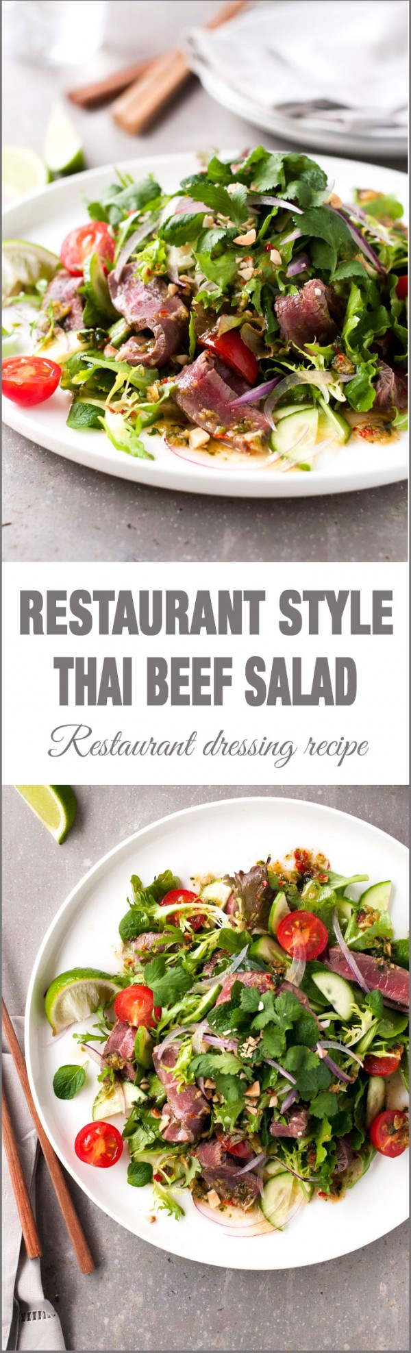 Get the recipe Thai Beef Salad @recipes_to_go