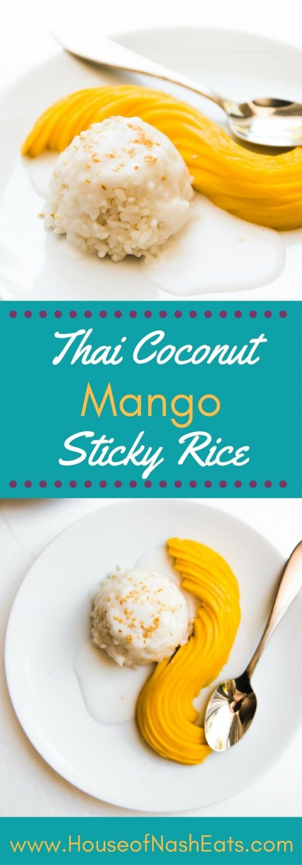 Get the recipe Thai Coconut Mango Sticky Rice @recipes_to_go
