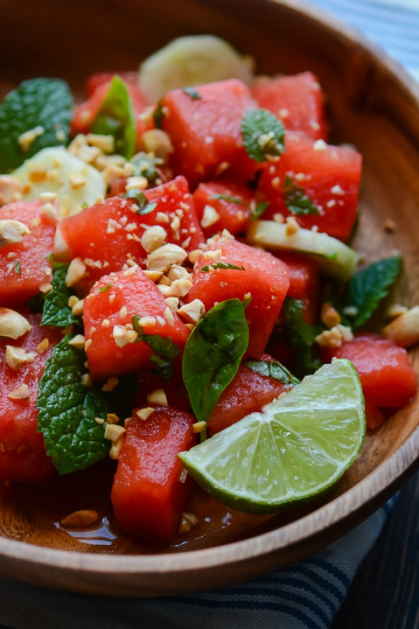 Get the recipe Thai Watermelon Salad @recipes_to_go