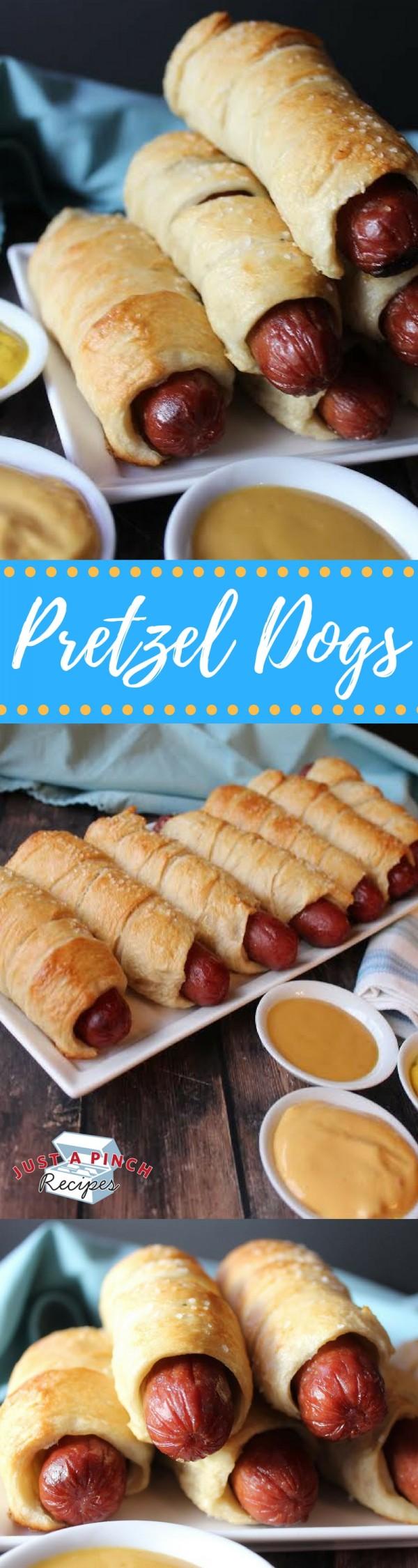 Get the recipe Susie's Pretzel Dogs @recipes_to_go