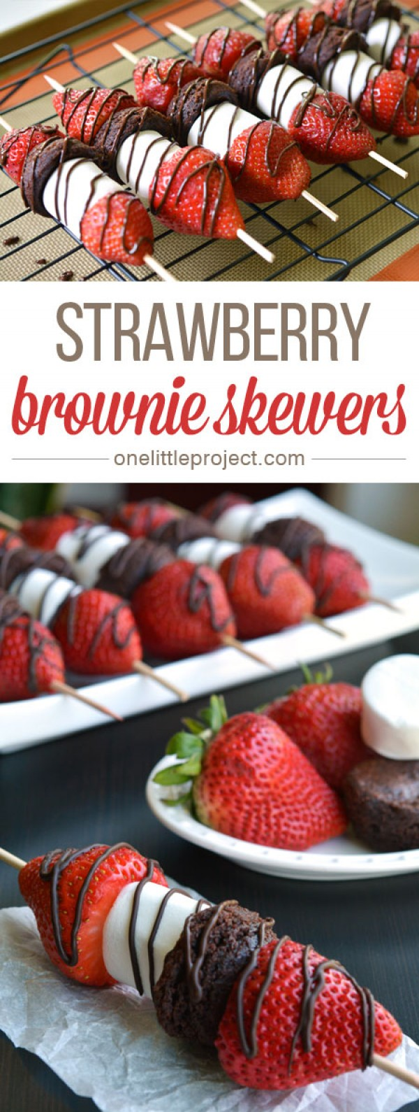 Get the recipe Strawberry Brownie Skewers @recipes_to_go
